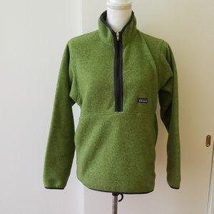 Patagonia Green Fleece Sweater Size S